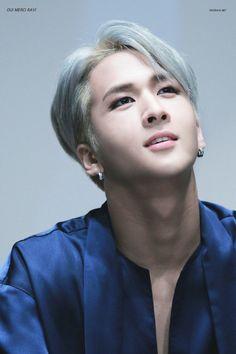 VIXX • Ravi He looks so good with silver hair ♡