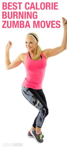 Dance Your Way to Fit: Best Calorie Burning Zumba Moves via SKINNYMOM