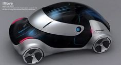 iMove concept Car par Liviu Tudoran - 2