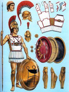 Hoplita, principios del siglo V aC