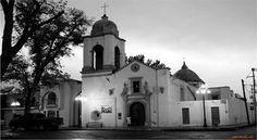 La iglesia Del Pueblo, Ntra. Sra. de los Dolores. Matehuala, S.L.P.