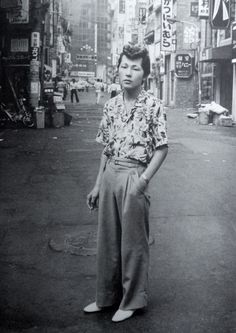Not That Martin Amis — Watanabe Katsumi - Rock Punk Disco. Look Cool, Cool Style, Fashion History, Fashion Tips, Mens Fashion, Japanese Streets, Japanese Culture, Mode Inspiration, Japanese Fashion
