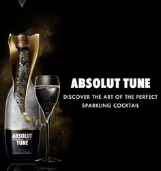 Absolut +  Champagne