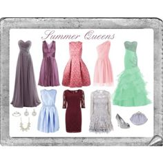 """""""Summer Queens"""" by giovanina-001 on Polyvore"""