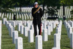 Prince Henry at Arlington Cemetery 2013.