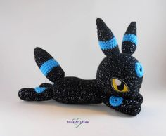Shiny Umbreon Amigurumi - Made by Sailor Mini Muffin!