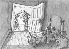 Este artista desenmascaró alasociedad moderna: sus obras son pesadas ehipnotizantes alavez Art And Illustration, Amazing Drawings, Amazing Art, Satire, Deep Drawing, Illustrator, Sketch Manga, Satirical Illustrations, Thought Provoking