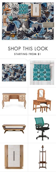 """""""Zoey`s Zimmer"""" by silverlp-1 on Polyvore featuring interior, interiors, interior design, Zuhause, home decor, interior decorating, World Rug Gallery, DutchCrafters, MODERNCRE8VE und CorLiving"""