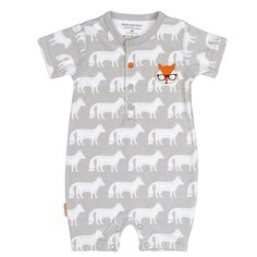 Kushies Light Gray On Safari Romper - Infant Safari, Baby Boy Outfits, Infant, Rompers, Couture, Rest, Gray, Mens Tops, Clothes