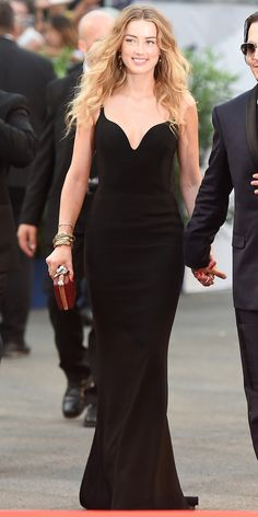 The Best of the 2015 Venice International Film Festival Red Carpet - Amber Heard - from InStyle.com