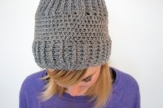 Another Crochet Hat by Lizzie