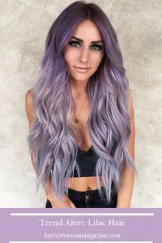 Lavender Hair, Lilac Hair, Braided Space Buns, Cardi B Nails, Bright Hair Colors, Pink Nail Designs, Hair Photo, Beauty Supply, Shades Of Purple