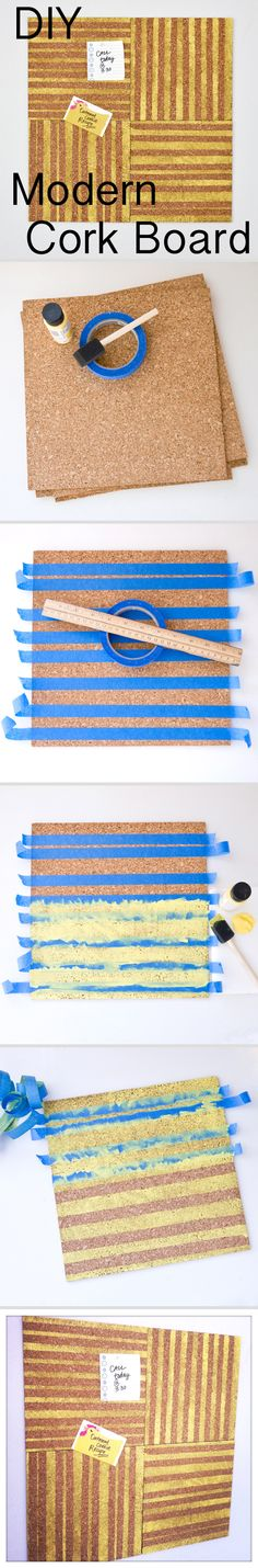 Make your own cork board.