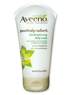 Aveeno Positively Radiant Skin Brightening Daily Scrub, Best 2014 Exfoliator, from #instylebbb - I loved what did this for my skin when I reviewed it for my Blog Ascending Butterfly
