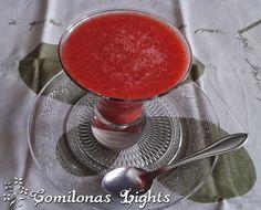 Coulis de fresas Ingredientes  500 g de fresas 2 cucharadas soperas de naranja 1 cucharada sopera de edulcorante