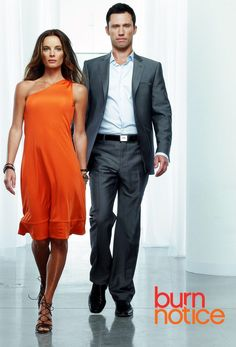 Burn Notice... My absolute FAVORITE tv show!