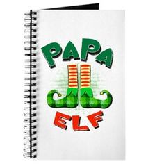 Papa Elf Journal Elf, Bear Shop, Halloween Shirt, Jingle Bells, Vintage Cards, Christmas Cards, Journey, Writing, Design
