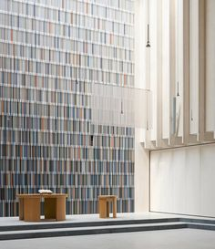 Church in timber construction by Sauerbruch Hutton
