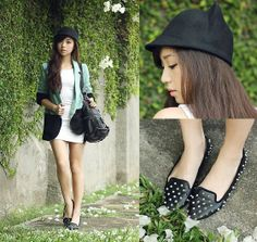 Clothes For The Goddess Blazer, Wagw Hat (Soon To Be Released), Satchi Flats, Alexander Mcqueen Bag, House Of Eva Dress