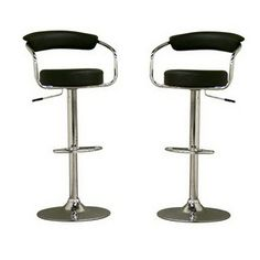 Leontes Stool Black Set Of 2 now featured on Fab.