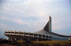 1964 Tokyo Olympics Stadium by Kenzo Tange