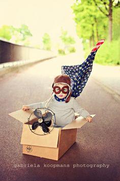 boys dream of flying - gabriela koopmans photohgraphy / tooo cute!
