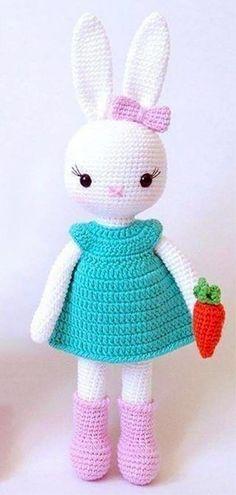 Amigurumi Crochet Bunny Patterns - Amigurumi Patterns Tutorials Crochet  Bunny Pattern 3256209779af