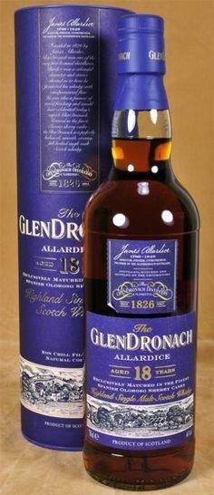 Glen Dronach Whisky 18 y.o. Allardice