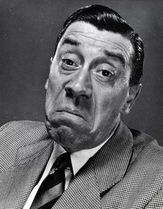 Fernandel, one of the greatest comedians.