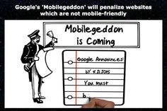 Google's 'Mobilegeddon' will penalize websites which are not mobile-friendly
