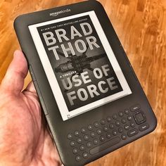 Reading the new Scot Harvath thriller by @BradThor on my old #Kindle keyboard edition  http://amzn.to/2AbhvUR #AmReading