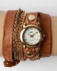 bracelet watch.