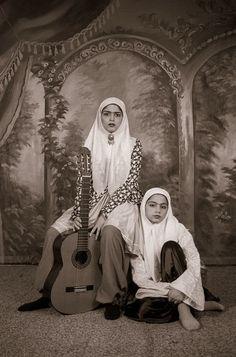 Qajar #14, 1998, by Shadi Ghadirian