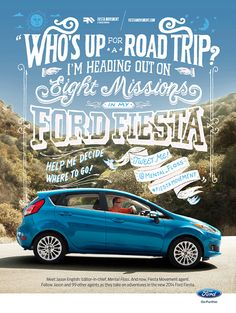 Ford Fiesta - Jon Contino, Alphastructaesthetitologist
