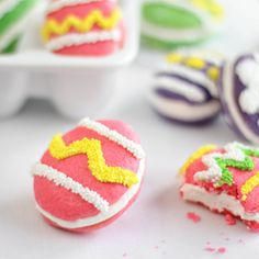 Easter egg whoopie pies... Sprinkle Bakes: My Work for Etsy