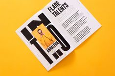 Flare Magazin — Issue 01 on Behance Behance, Book Design, My Design, Design Ideas, Berlin, Magazine Spreads, Book And Magazine, Magazine Photos, Personal Identity