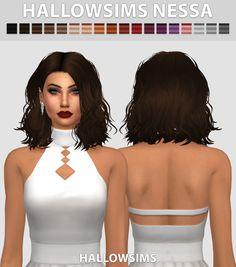 Sims 4 CC's - The Best: HallowSims Nessa