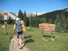 What to wear and what to bring backpacking