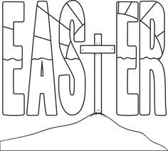 """Jesus Easter Coloring Pages from Collection Of Easter Coloring Pages. Easter is a celebration of Christians who commemorate the event of Jesus Christ being revived (or """"resurrected""""). Easter celebrations are popular wit. Easter Coloring Pages Printable, Easter Egg Coloring Pages, Coloring Pages For Kids, Coloring Sheets, Coloring Books, Easter Coloring Pictures, Easter Bunny Colouring, Fathers Day Coloring Page, Cross Coloring Page"""