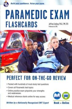 REA's Paramedic Flashcard Book with Online Practice Test Second Edition Hundreds of must-know questions cover the topics tested on the exam! REA's Paramedic Flashcard Book is the perfect companion for