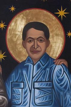 Wang Zhiming | All Saints Company. The Dancing Saints Icons project at Saint Gregory Nyssen Episcopal Church, San Francisco is a multi-year installation project supported by All Saints Company, the congregation of Saint Gregory Nyssen Church and many donors and benefactors. The iconographer is Mark Dukes.