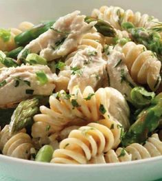 Green Goddess Pasta Salad with Chicken - Clean Eating - Clean Eating