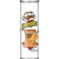 Pringles Crisps Pizza, Pizza makes people happy. Pringles make people happy. Combine the two, and your party will be known as the happiest place on earth. If morning-after cold pizza is your thing, store the can in the fridge. Pulled Pork Burger, Pork Burgers, Pringles Pizza, Pringle Flavors, Dried Potatoes, Potato Crisps, Pizza Flavors, Rice Flour, Shopping