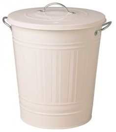 KNODD Bin With Lid, White - contemporary - utility tubs - by IKEA