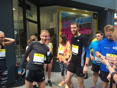 Gearing up to run with Jo Pavey from The Running Works, London's largest independent running store.