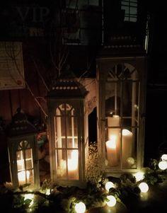 candlelight christmas wedding, welcome, entrance, lanterns Christmas 2019, Christmas Wedding, Laura Ashley Christmas, Christmas Interiors, Church Ceremony, Wedding Welcome, Fairy Lights, Lanterns, Entrance