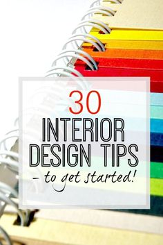 30 fantastic interior design tips to make your home look amazing every time. Tricks of the trade! The post 30 fantastic interior design tips to make your home look amazing every time. Tri appeared first on Decoration. Diy Interior, Interior Design Basics, Interior Design Courses, Interior Decorating Tips, Interior Design Business, Modern Interior Design, Decorating Ideas, Interior Design For Beginners, Interior Paint