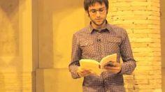 Marcel Santacreu recita un dels seus poemes.