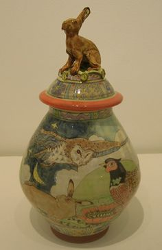 Maureen Minchin - Lidded Jar