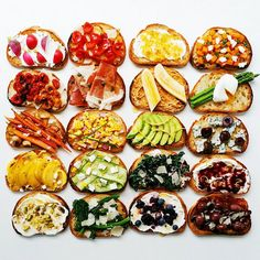 Stunning Food Photography Features An Organized Mess Of Colors & Transformation - DesignTAXI.com